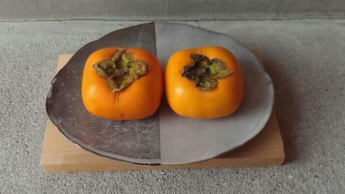 キャラメル柿