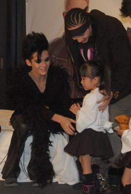 bill tom and little girl