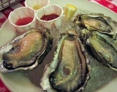 生牡蠣4ピース