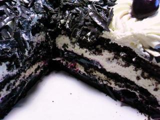 コストコ ブラックフォレストケーキ1950g¥2180aa