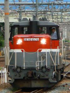 DE10-1576 単機回送 撮影地:新大阪