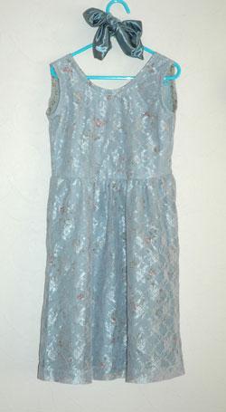 リメイクで作った娘のドレス