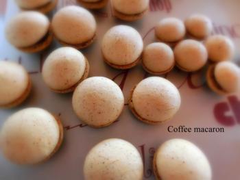 コーヒーマカロン