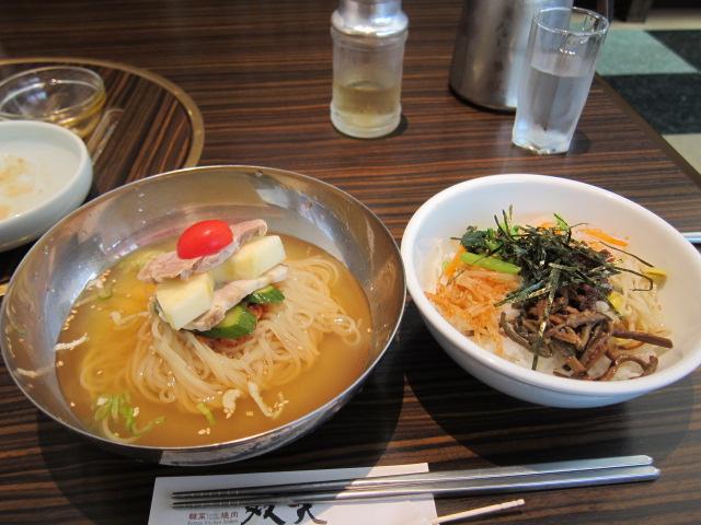 冷麺&ピビンパ