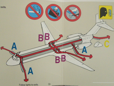 AA evacuation MD823