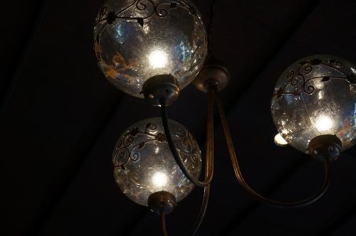 桜下亭 ランプ