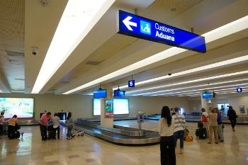CUN T3 baggage claim