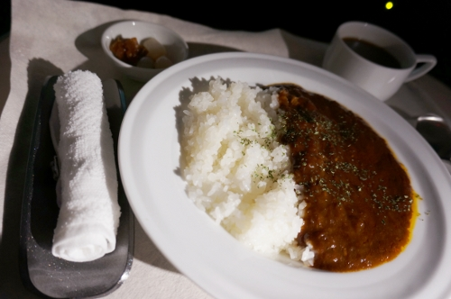 JAL C meal curry