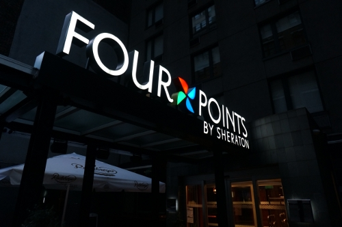 Four Points by Sheraton Manhattan Chelsea entrance