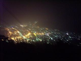 函館山夜景 ハートを探せ!