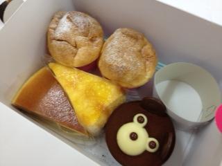ペコちゃん ケーキ