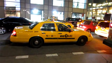 yellow cab undercover