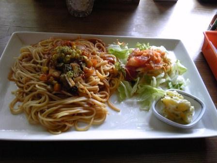箱庭野菜パスタランチプレート