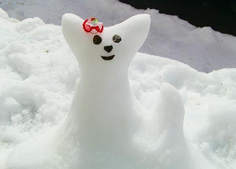 メル雪だるま☆ 14.2.9