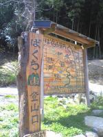 三豊市詫間町ばくち山登山道3