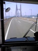 路線バスで行く瀬戸大橋の島1