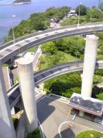 瀬戸大橋岩黒島ループ橋1