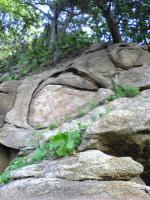岩黒島の海岸で見かけた奇岩2