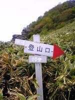 伊予富士登山道3