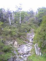 愛媛県東黒森山頂上でバンザイ5