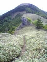 塔ノ丸登山道の奇岩の風景4