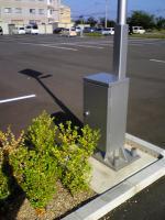 ソーラー蓄電の街路灯2