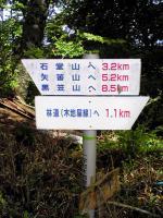 徳島県石堂神社から登山開始1