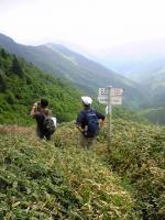 徳島県石堂山頂上からの眺望1