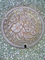 マンホールアートin 松山市1