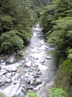 高知県大座礼山登山口への道1