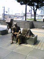 JR富山駅から歩いてホテルへ2