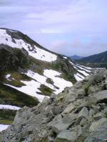 立山一の越から雄山頂上2