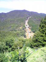 1さおりが原に行く途中の山2