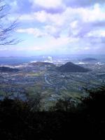 1飯野山登山道からの風景1
