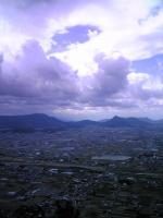 1飯野山登山道からの風景2