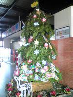 1団扇のクリスマスツリー1
