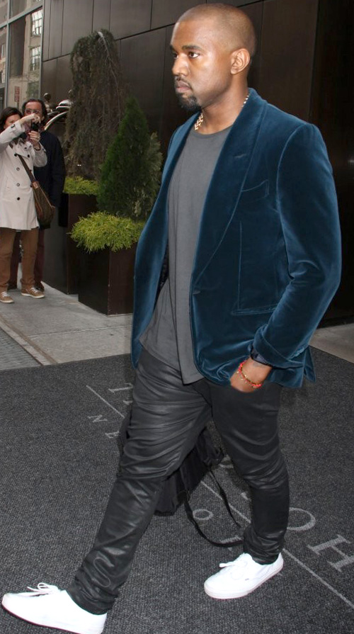 カニエ・ウェスト(Kanye West):トム・フォード(Tom Ford)バンズ(Vans)コム・デ・ギャルソン(Comme des Garcon)