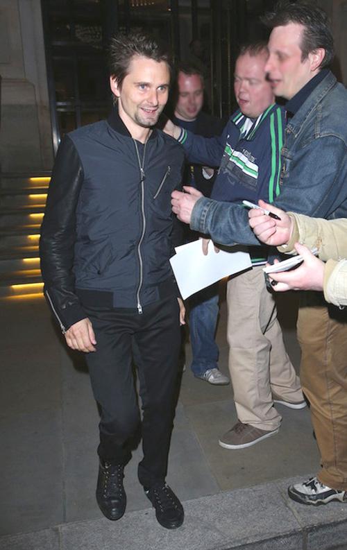 マシュー・ベラミー(Matthew Bellamy):オール・セインツ(All Saints)ディオール・オム(Dior Homme)
