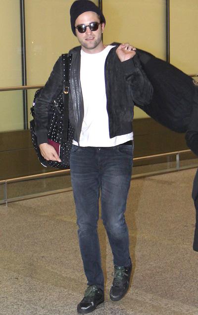 ロバート・パティンソン(Robert Pattinson):ステューシー(STUSSY DELUXE)バレンシアガ(BALENCIAGA)