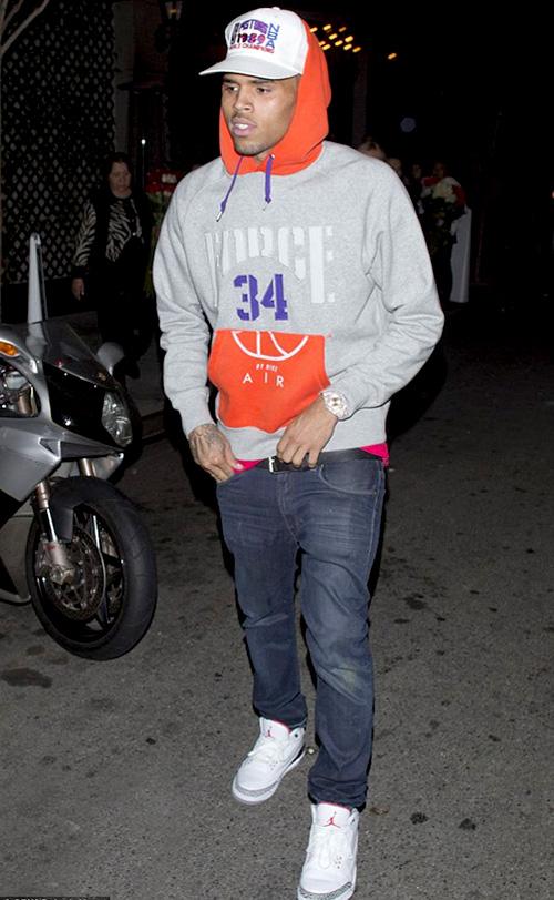 クリス・ブラウン(Chris Brown):ナイキ(NIKE)