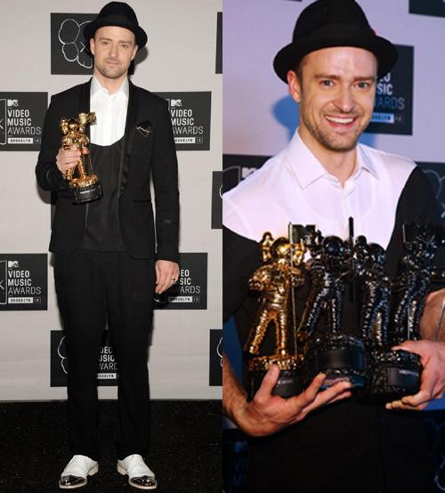 ジャスティン・ティンバーレイク(Justin Timberlake):ニール バレット(Neil Barrett)/クリスチャン・ルブタン (Christian Louboutin)