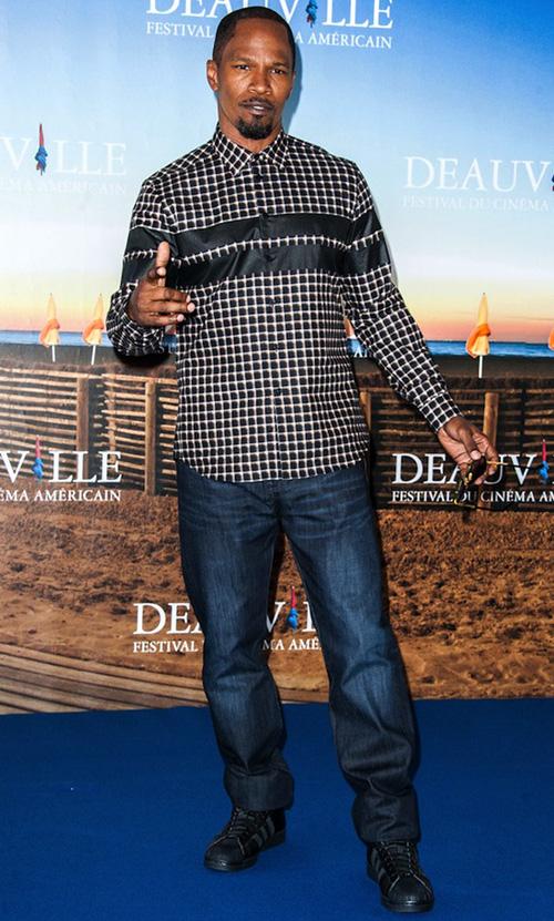 ジェイミー・フォックス(Jamie Foxx):ジバンシィ(GIVENCHY)アディダス(Adidas)