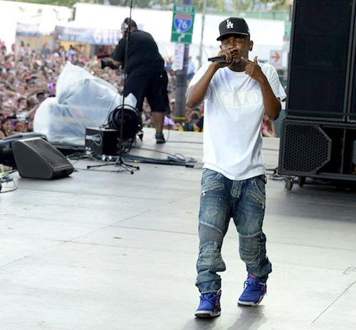 ケンドリック・ラマー(Kendrick Lamar):バルマン(BALMAIN)ナイキ(NIKE)
