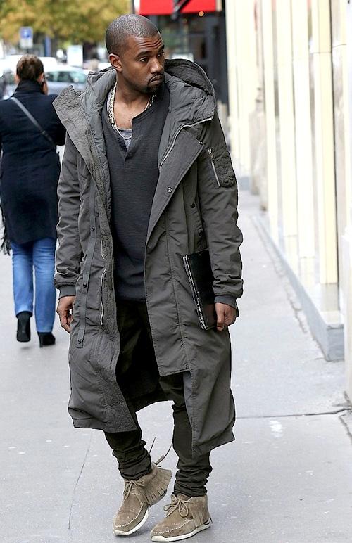 カニエ・ウェスト(Kanye West):リックオウエンス(Rick Owens)ヴィズヴィム(visvim)