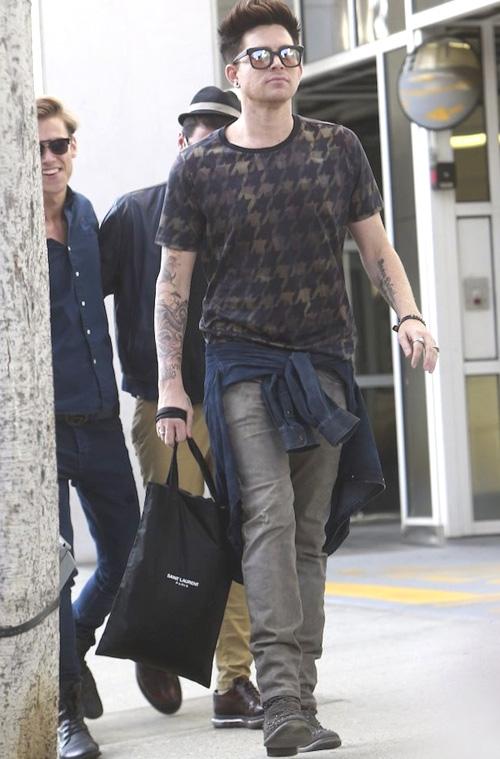 アダム・ランバート(Adam Lambert):ポールスミス(Paul Smith)プレミアータ(PREMIATA)