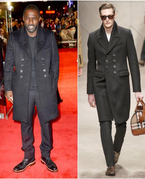 イドリス・エルバ(Idris Elba):バーバリープローサム(BURBERRY PRORSUM)