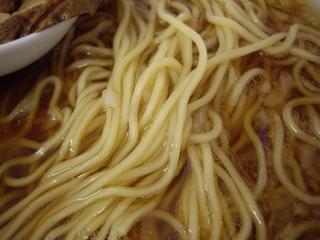 醤油らぁめん専門店 香味屋 醤油らぁめん(麺)