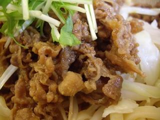 麺tenしばふ 牛肉つけ[中](牛肉)