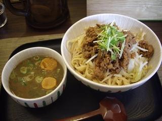 麺tenしばふ 牛肉つけ[中]