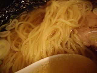 椿華亭 目黒権之助坂 中華そば(麺)
